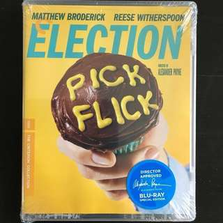 Election - Criterion Collection Bluray