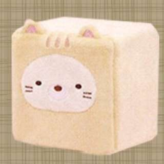 [Toreba] sumikkogurashi - Great weather for cats - Cube plush case