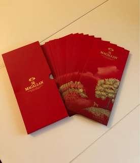 Macallan red packets