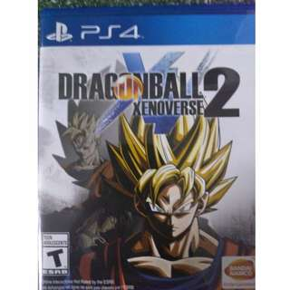 PS4 Dragon Ball Xenoverse 2 (R1) (Brand New) used less than an week!