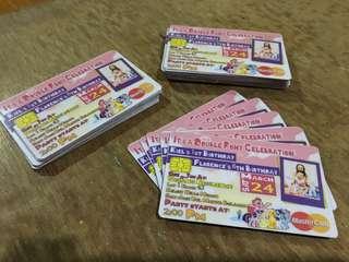 Personalized Invitation Cards