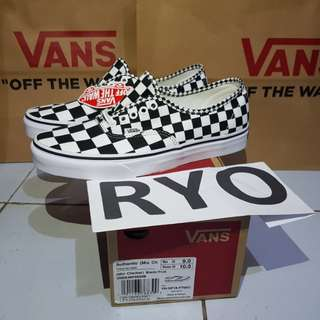 Vans Authentic Mix Checker Checkerboard not slip on og old skool sk8 anaheim