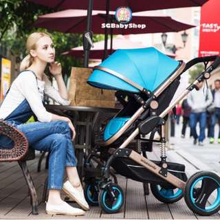 💯2018 Brand New German design Wisesonle 4Air tyres baby stroller/pram/Offer/limited stock/New version/colorful