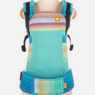 Tula FTG Full WC Baby Carrier - Girasol Iridescent Dreams Azul Pacifico Weft