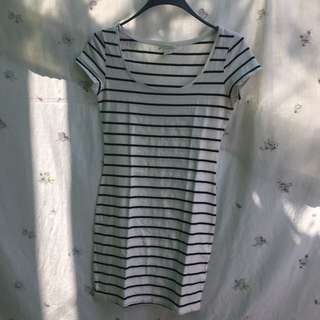 H&M Basic stripes dress