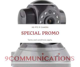 HD PTZ IPCAM SPECIAL PROMO