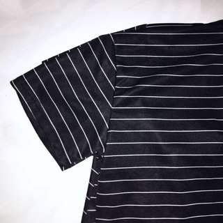 Black & White Striped Top !!