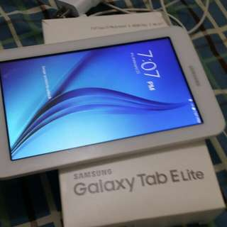 Samsung Galaxy E lite tablet