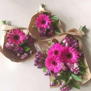 [CLEARANCE] Purple-theme Flower Bouquet