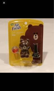 Line friends brown musk air freshener