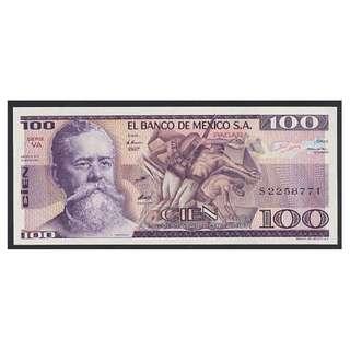 (BN 0013) 1982 Mexico 100 Pesos - UNC