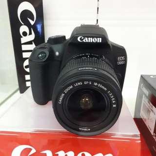 Kamera Canon Eos 1300d DSLR MURAH (Kredit TANPA CC)