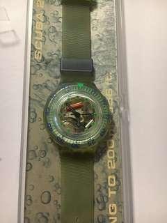 ***Swatch珍藏限量版手錶-Scuba 200***