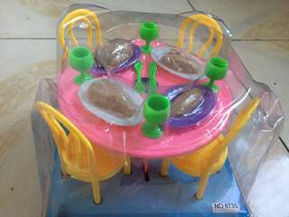 Dining Playset for playpretend