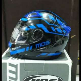 Helmet mds provent blue full face