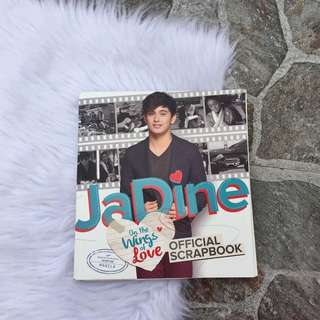 Official JaDine Scrapbook ( with free JaDine Candy Magazine )