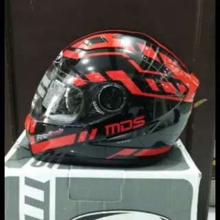 Helmet mds provent red black