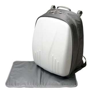 Simple Dimple Papa Bag White Shield
