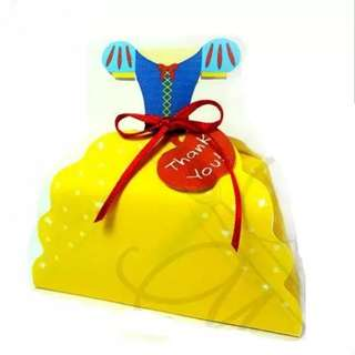 Snow White Dress Goodie Bag