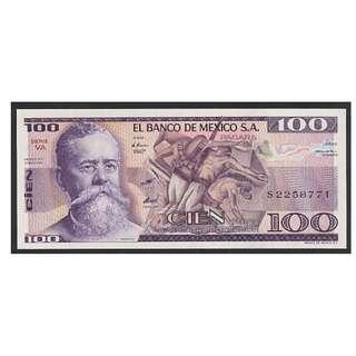 (BN 0013-2) 1982 Mexico 100 Pesos - UNC