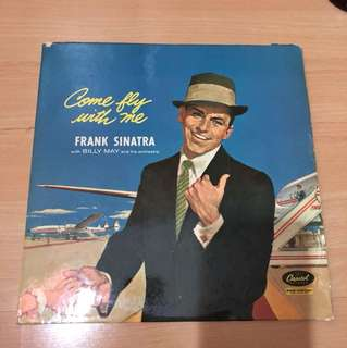 Frank Sinatra- come fly with me lp