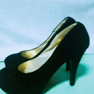 M.Y black shoes