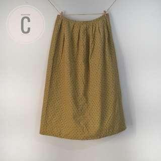 Mocha skirt