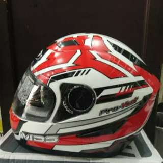 Helmet MDS provent serie 3 red