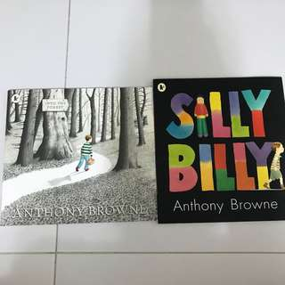 BN Anthony Browne books
