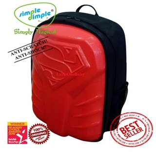 Simple Dimple Superman Limited Edition Diaper Bags Red XL