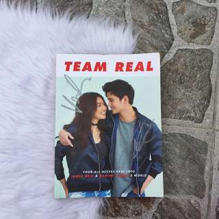 SIGNED Team Real JaDine Book