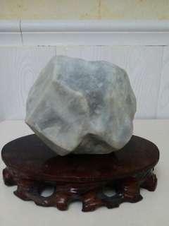 翡翠原石擺件