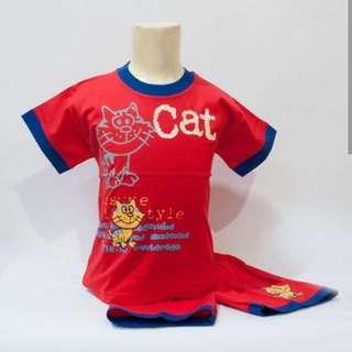 Stelan kucing merah