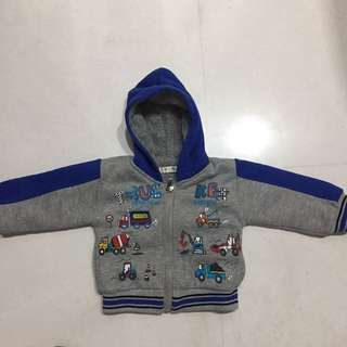 Boys winter coat 6-18 months + free winter hat
