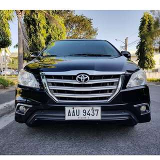 Toyota Innova 2014 G Manual Diesel