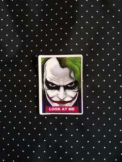 Joker Sticker (A2)