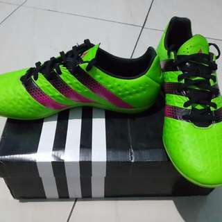 Jual Adidas Ace 16.3 In Green (Futsal)