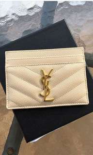 Ready YSL card holder rec Boutique