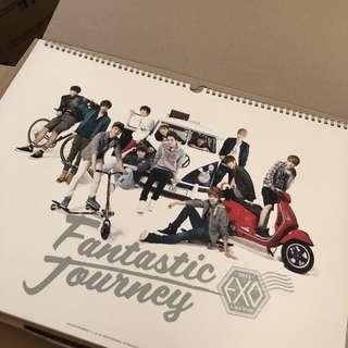 EXO 2013 Calendar 中韓兩版