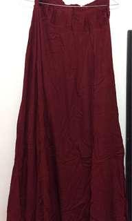 #cintadiskon Red Umbrella Skirt