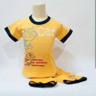 Stelan kucing kuning