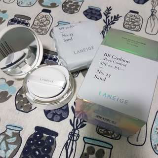 Laneige pore control cushion shade 23