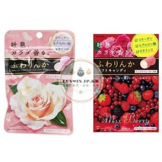 [日本購入]Kracie香氛吐息糖 香氛 約會必備 玫瑰/莓果 口味