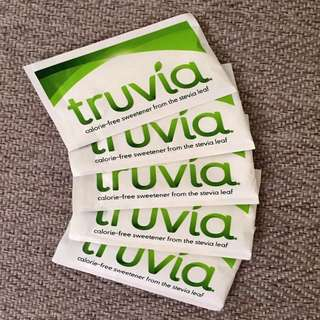 5 x 3g Packets Truvia Stevia (Keto & Diabetic Friendly)