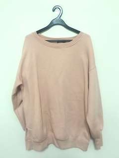 Pullover Top/Dress in Dusty Pink