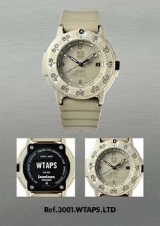 Wtaps x Luminox Navy Seals 3000