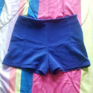 Ladies Blue Shorts