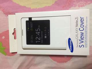 Samsung Note3 原裝cover 電話套