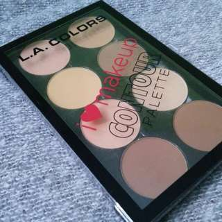 L.A. Colors I 💚 Makeup Contour Palettw