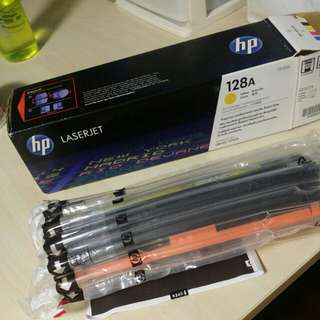 HP Laserjet yellow toner
